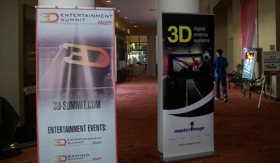 Early arrival at the 3D Summit Convention!