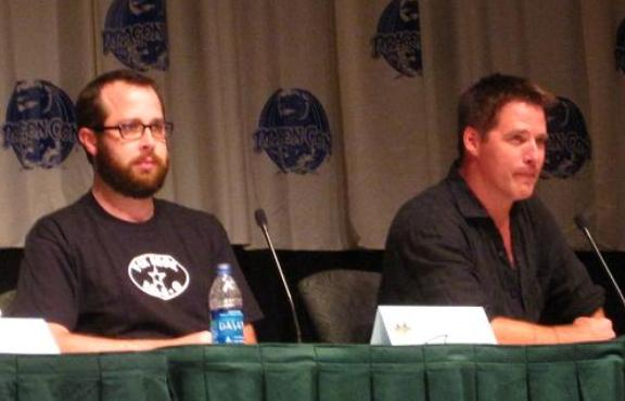 Martin Gero and Ben Browder at Dragon*Con 2010!