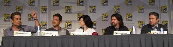 Caprica cast at Comic-Con 2010 hint at surprise!