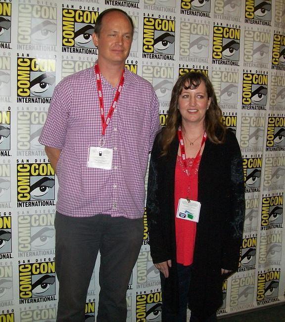 Scooby-Doo's Dan Krall with Whovian99 (Trish)