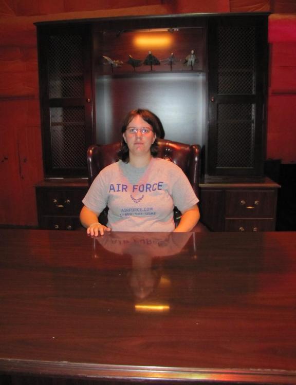 Kassandra at the Stargate General's Desk!