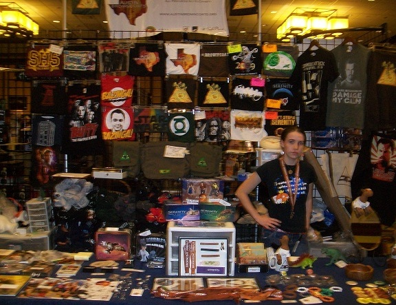 TriCon 2010 - Swag for everyone - Thanks Creation!