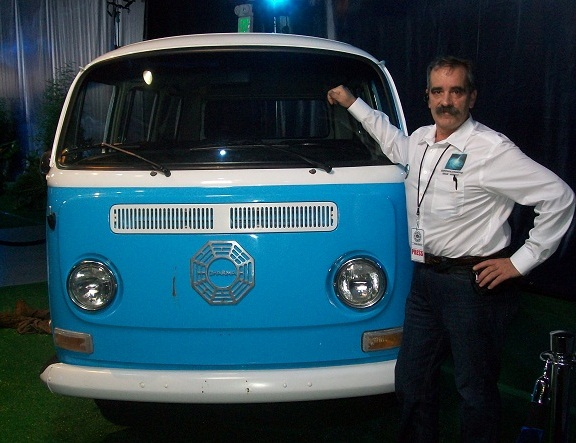WHR at the Dharma Van LOST Auction Santa Monica CA