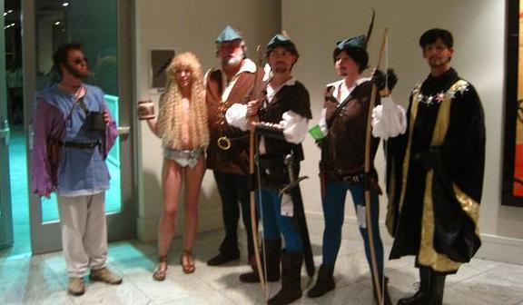 Men in Tights casty at Dragon*Con 2010!