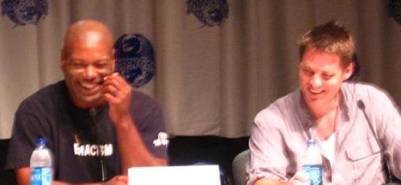 Chris Judge and Ben Browder at Dragon*Con 2010!