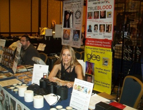 TriCon 2010 - The lovely Virginia Hey!