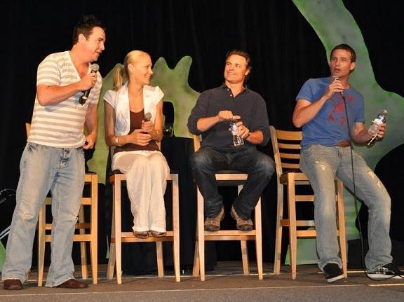 Gatecon 2010 SGA Panel Paul, Andree, Dan, Peter