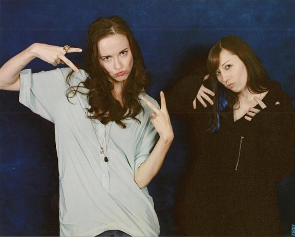 TriCon 2010 - Elyse and me - Ghetto Op image two!