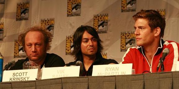 Comic-Con 2010 - Scott, Vik & Ryan!