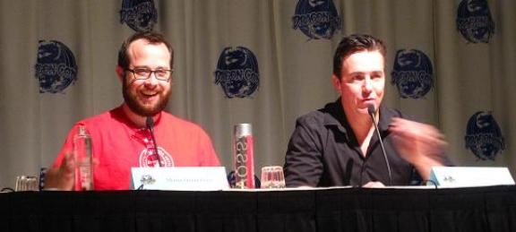 Funny Martin Gero & Paul McGillion at Dragon*Con 2010!