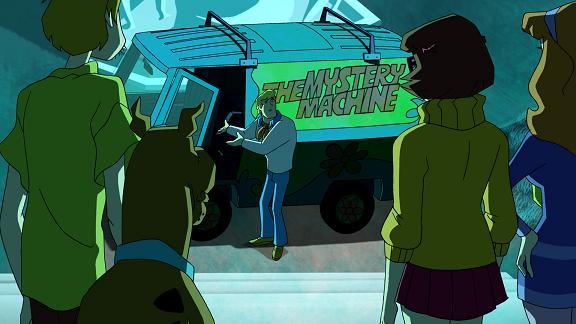 Scooby-Doo Mystery Inc - The Mystery Machine