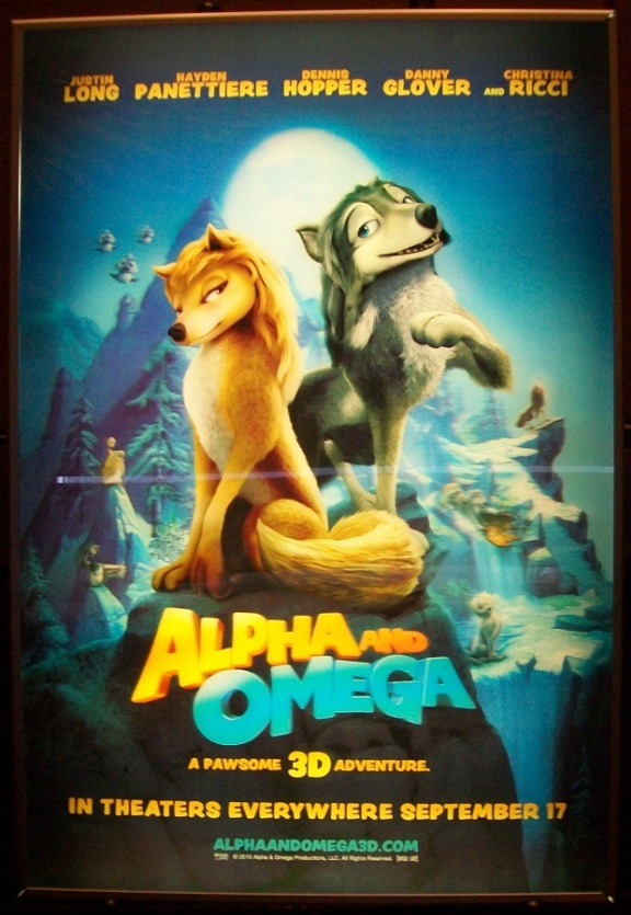 Alpha and Omega 3D!