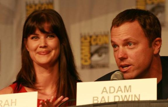 Comic-Con 2010 Chuck Panel - Sarah & Adam!