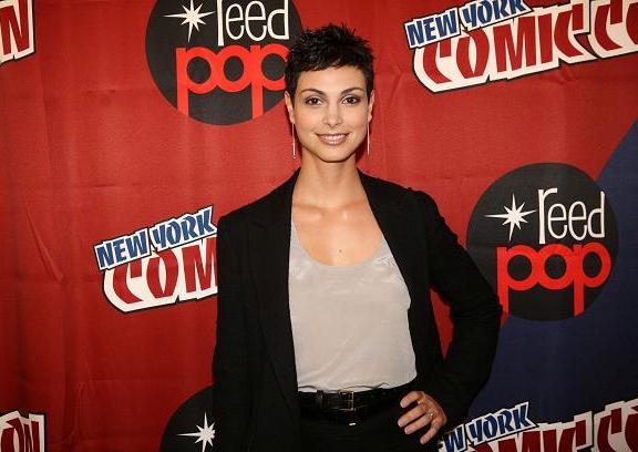 V series star Morena Baccarin at NYCC 2010
