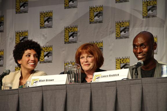 Comic Con 2010 Warner Bros. Fringe Panel SDCC, CA