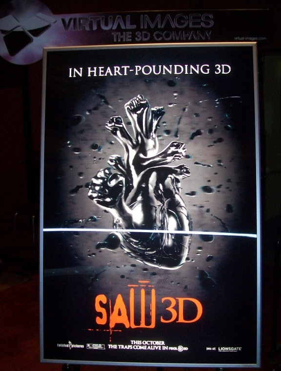Saw 3D to rip the world!