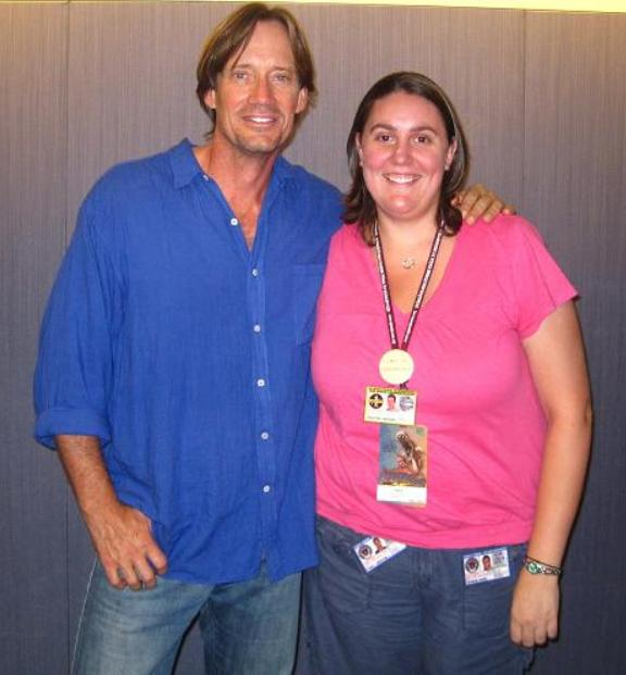 Kevin Sorbo and Tara at Dragon*Con 2010!