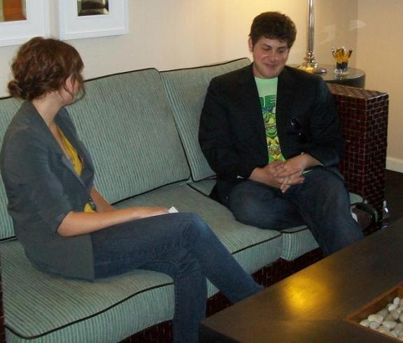 Comic-Con 2010: An Initimate and Fun Interview with David Blue of Stargate Universe!