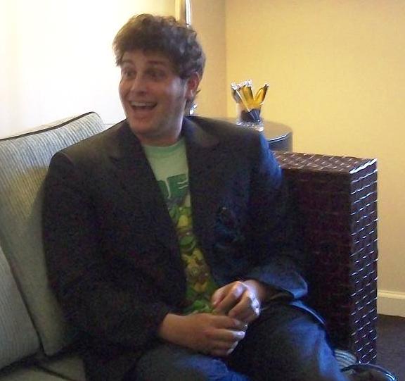 Comic-Con David Blue Interview Courtesy MGM Studios