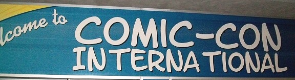 Comic-Con 2010 Narrow Entrance Banner
