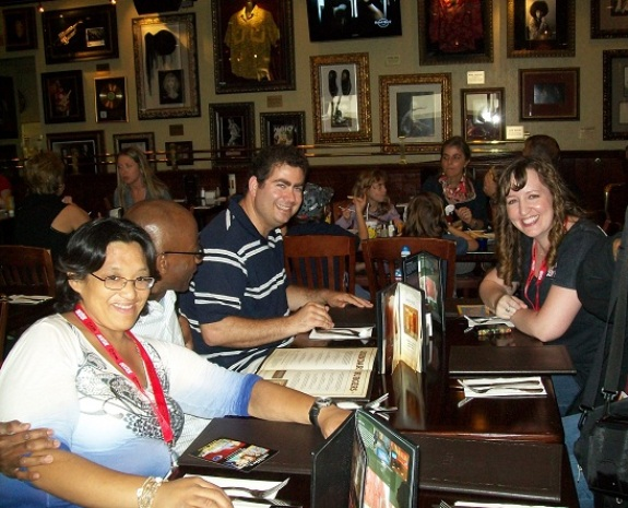 ComicCo 2010 - WHR Team at HardRock