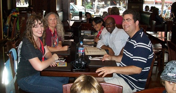 ComicCon 2010 WHR Team at HardRock
