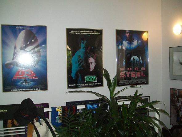 Collectors artwork from Kenny Johnson's accomplishments