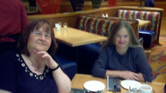 TriCon 2010 - Patricia Bertrand and friend Sue