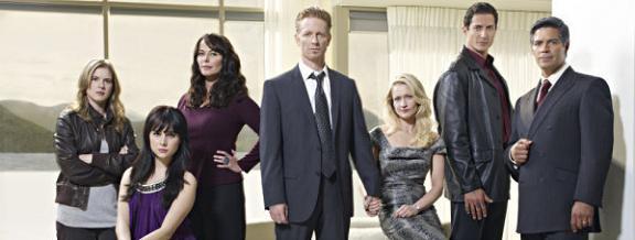 Caprica main cast. Image courtesy SyFy and NBC