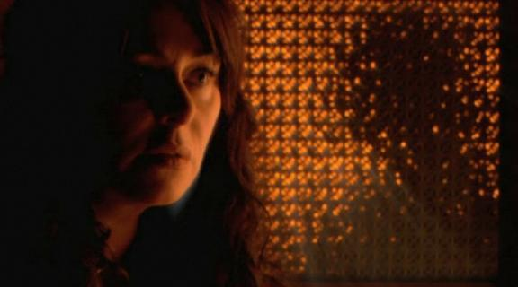2010 - Caprica - Clarice chats with Apotheosis