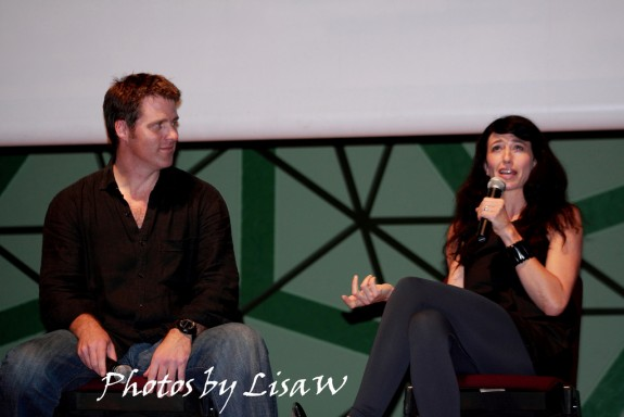 2010 - Hubcon - Ben Browder & Claudia Black courtesy PaganX Lisa