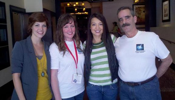 2010 MingNa with WormholeRiders Team!