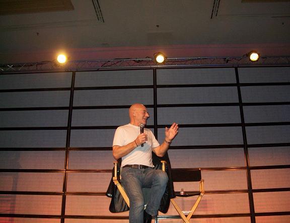 Sir Patrick at 2010 SF Star Trek Sunday. Click to visit C.E.