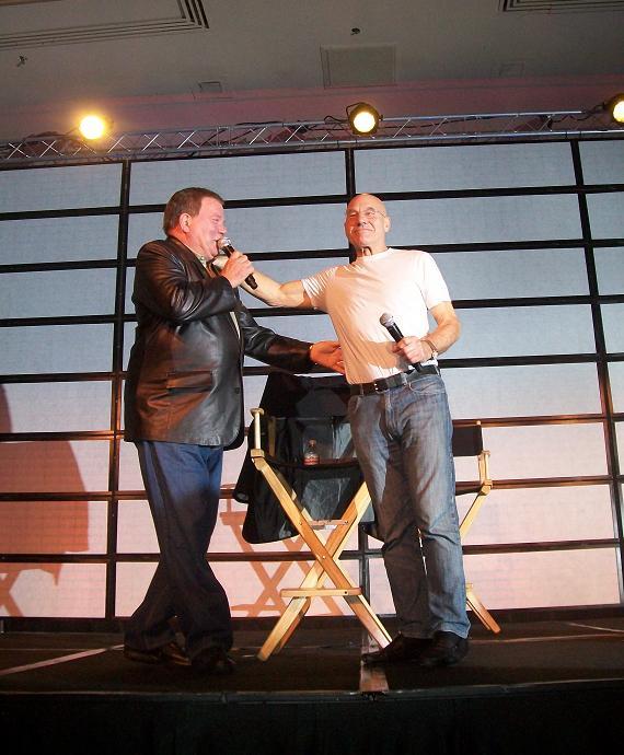 William Shatner & Sir Patrick Stweart Poking Fun!