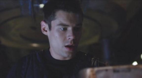 2010 SGU S1x11 Space - Brian J. Smith as Lt. Matthew Scott