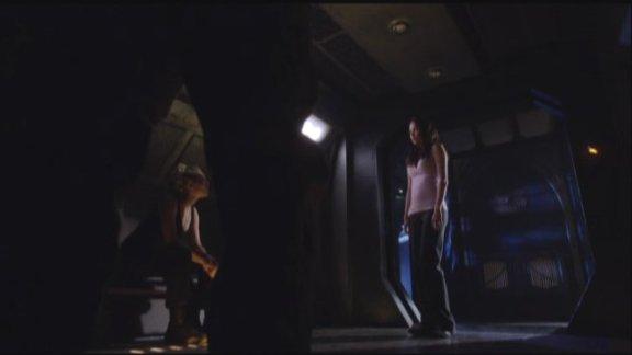 2010 SGU S1x12 Divided - Alaina TJ tells Chloe