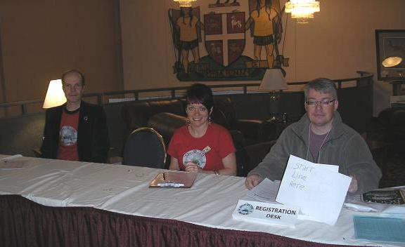 2010 SciFi on the Rock - Registration Team