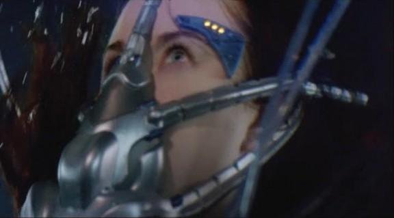 2010 Stargate Universe S1x11 Space - Chloe Alien Scuba Gear