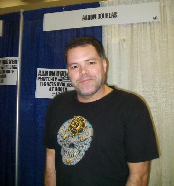 2010 WonderCon - Aaron Douglas of BSG