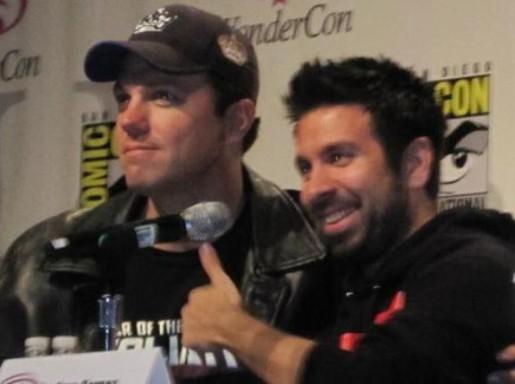 2010 WonderCon - Adam Baldwin & Joshua Gomex