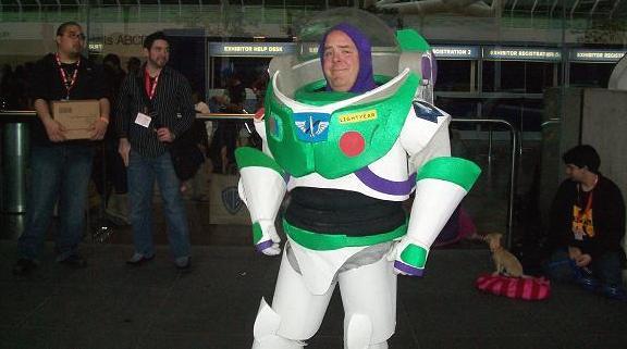 2010 WonderCon - Buzz Lightyear