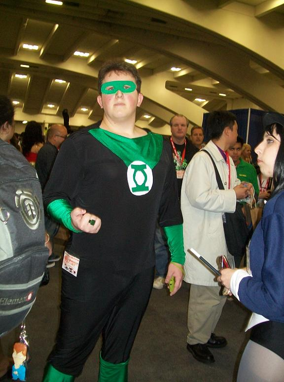 2010 WonderCon - Green Lantern