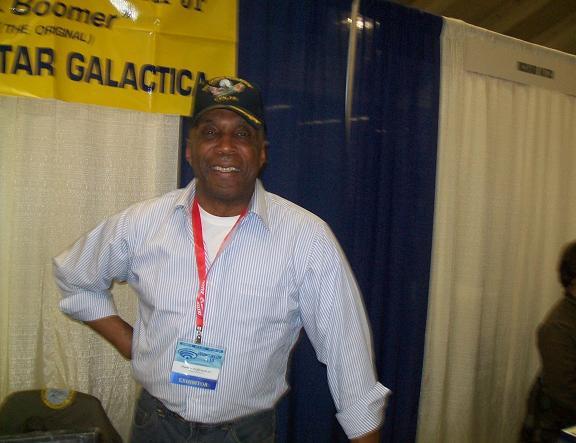 2010 WonderCon - Herbert Jefferson Jr. Boomer of BSG