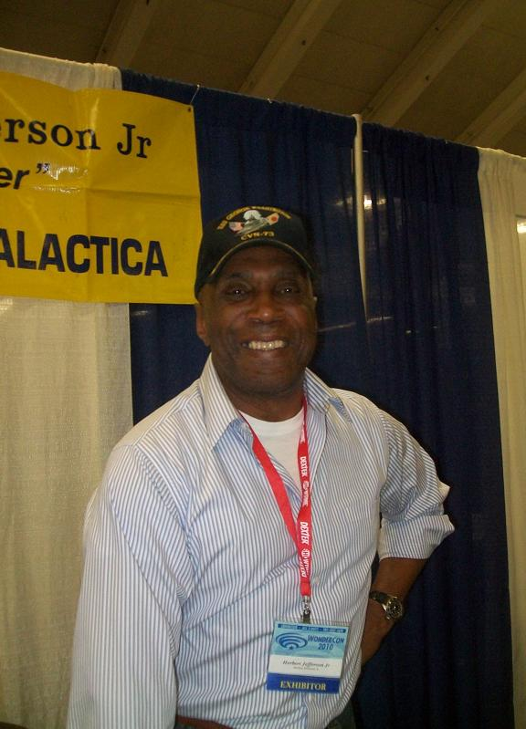 2010 WonderCon - Herbert Jefferson Jr. of BSG