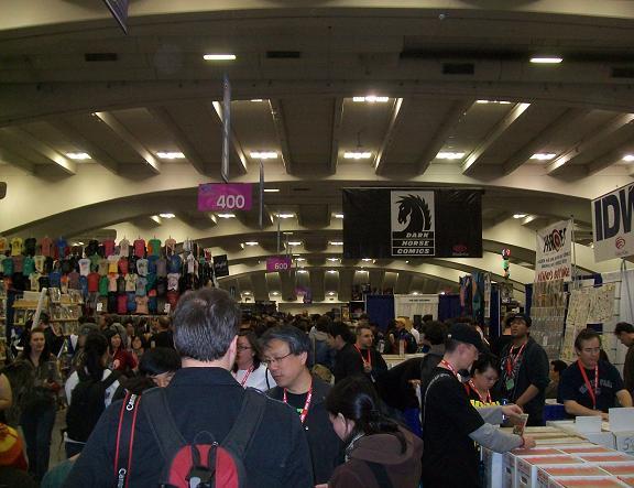 2010 WonderCon - Huge Exhibitor and Vendors Area