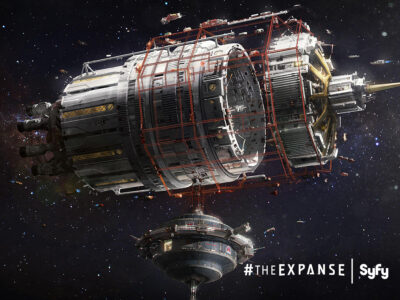 The Expanse Concept Art courtesy Syfy