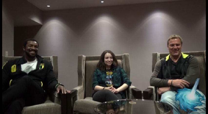 Dark Matter Finds its Way to Gatecon! An Interview with Roger Cross, Jodelle Ferland and Mike Dopud!