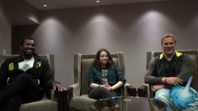 Gatecon 2016 Roger Cross - Jodelle Ferland - Mike Dopud Interview