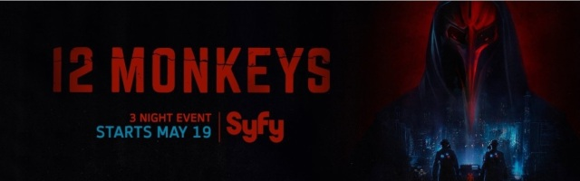 12 Monkeys S3 Banner Poster - Click to visit and follow 12 Monkeys on Twitter!