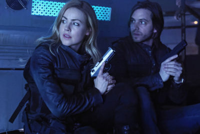 12 Monkeys S4x01 Cassandra and James Begin The End!